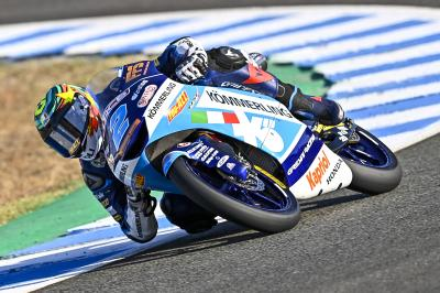 Rodrigo's Friday lap record enough for top spot in Moto3™