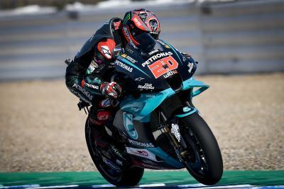 Quartararo prepara il passo per firmare la pole a Jerez