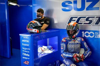 Rins, un infortunio mette fine al suo GP Red Bull de España