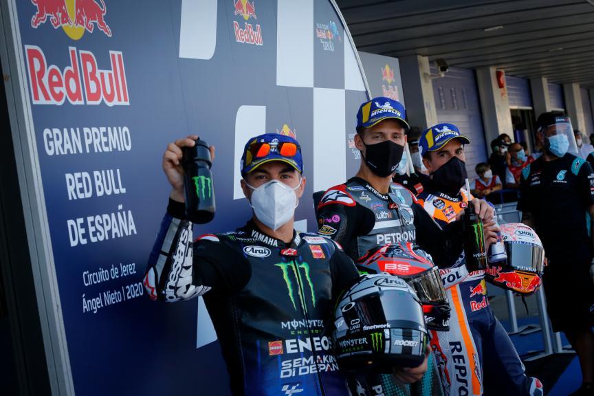 Viñales, Quartararo, Marquez, Gran Premio Red Bull de España