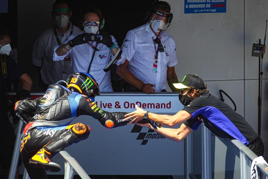 Luca Marini, Valentino Rossi, Gran Premio Red Bull de España