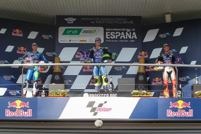 Granado completes a perfect first round of MotoE™