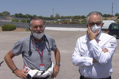 Doctors Mir and Charte give update on Marc Marquez' injury