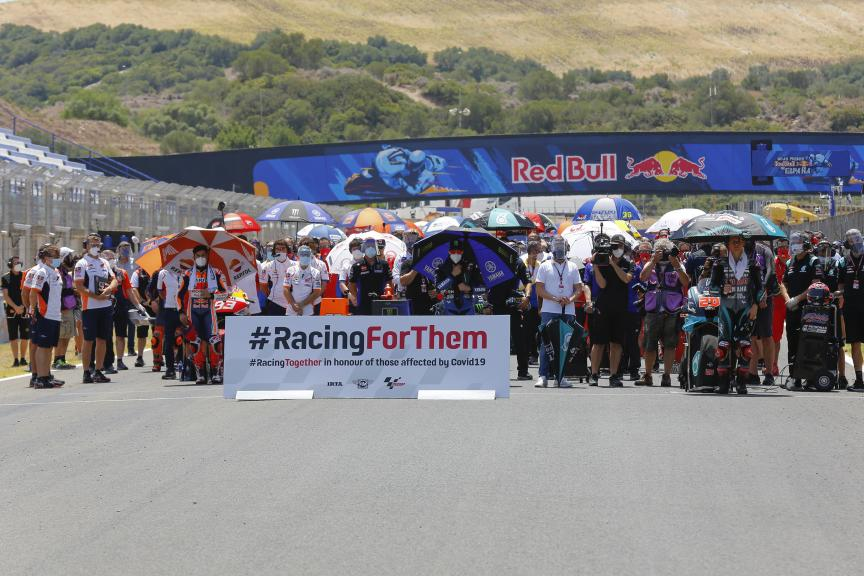 Minute of silence, Racing For Them, Gran Premio Red Bull de España
