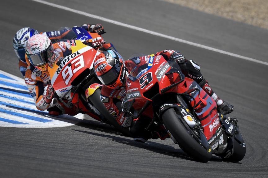 Danilo Petrucci, Marc Marquez, Race, Gran Premio Red Bull de España