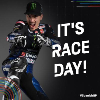 IT'S RACE DAY! Are you ready for the first #MotoGP