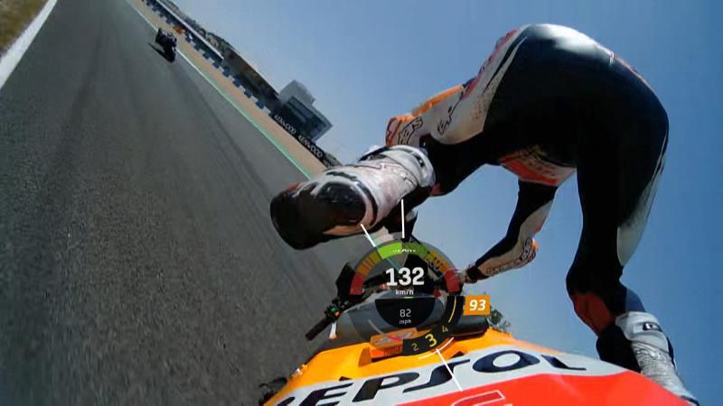 Marc Marquez Unfall