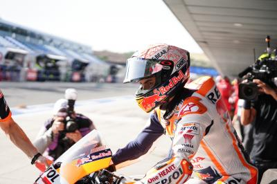Le reazioni sui social dopo la caduta di Marquez a Jerez