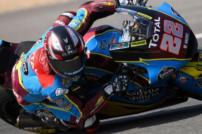 Moto2™ : Lowes brille au warm-up