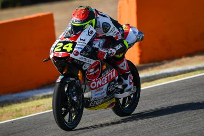 Suzuki three-tenths clear in Moto3™ Warm Up