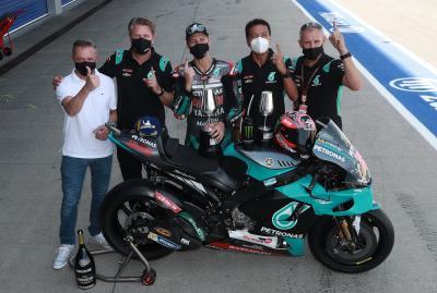 Le team Petronas Yamaha SRT dans une nouvelle dimension !