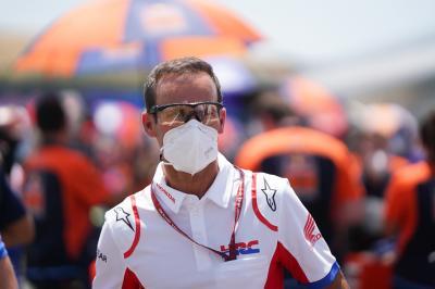 Der Repsol Honda Team Manager reflektiertf den SpanienGP