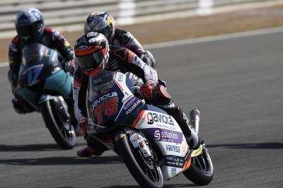 Arenas prende lo slancio in Moto3™