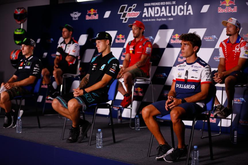 Press Conference, Gran Premio Red Bull de Andalucía