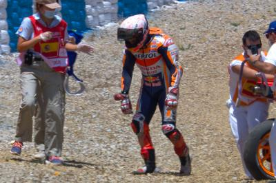Analysis and data behind Marc Marquez' horrific highside