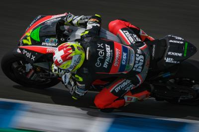 Aegerter irrompe in MotoE™ e domina la FP1