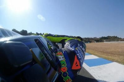 OnBoard : Rossi prend confiance à Jerez !