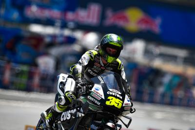 Crutchlow: P13 in qualifying despite Tuesday's surgery