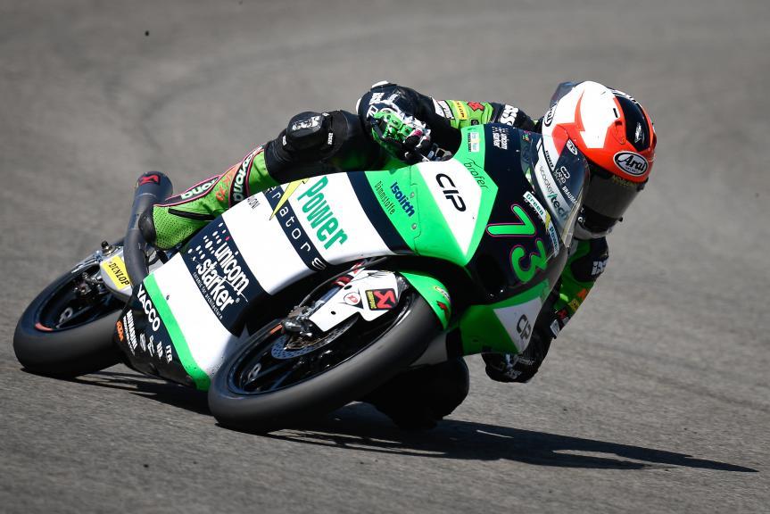 Maximilian Kofler, CIP Green Power, Gran Premio Red Bull de Andalucía