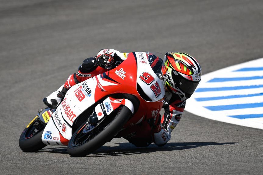 Yukii Kunii, Honda Team Asia, Gran Premio Red Bull de Andalucía