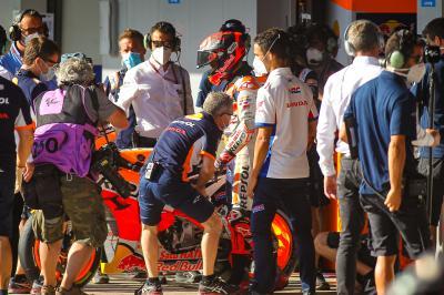 Marquez disputerà il resto del GP de Andalucía?
