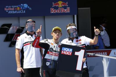 Moto3™ : Troisième pole consécutive pour Suzuki