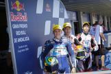 Tatsuki Suzuki, Ai Ogura, Gabriel Rodrigo, Gran Premio Red Bull de Andalucía