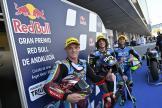 Sam Lowes, Marco Bezzecchi, Enea Bastianini, Gran Premio Red Bull de Andalucía