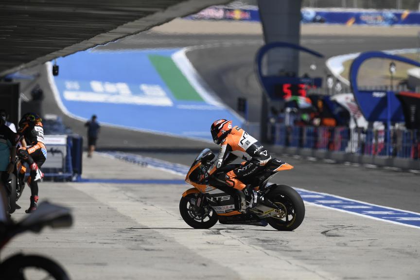 Bo Bendsneyder, NTS RW Racing GP, Gran Premio Red Bull de Andalucía