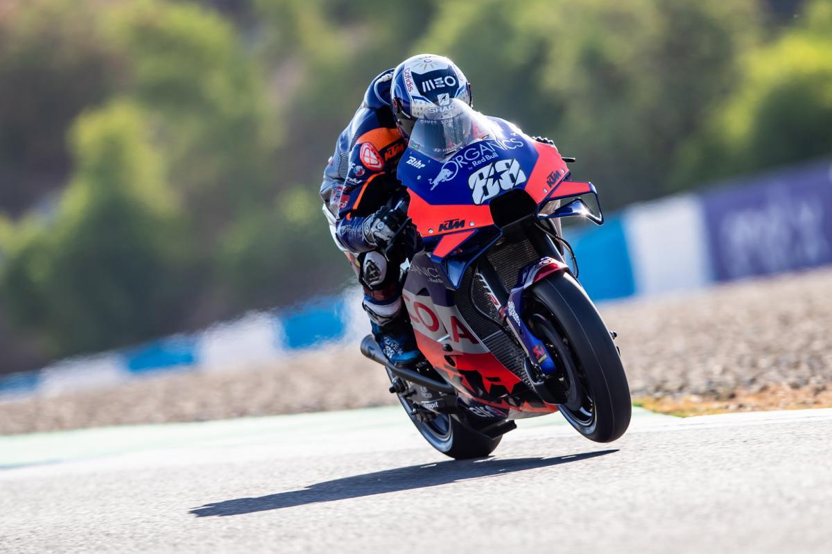 Oliveira Tops Q1 Dovizioso Misses Out Marquez Sets No Lap Motogp