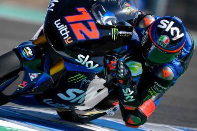 Moto2™ : Grande première pour Bezzecchi en qualifications
