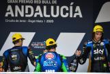 Luca Marini, Enea Bastianini, Marco Bezzecchi, Gran Premio Red Bull de Andalucia