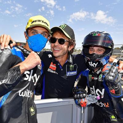 Happy family  Just look how proud @valeyellow46 is of