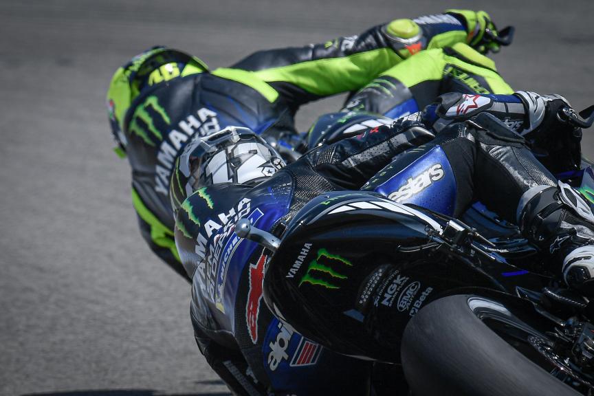 Maverick Vinales, Valentino Rossi, Monster Energy Yamaha MotoGP, Gran Premio Red Bull de Andalucia