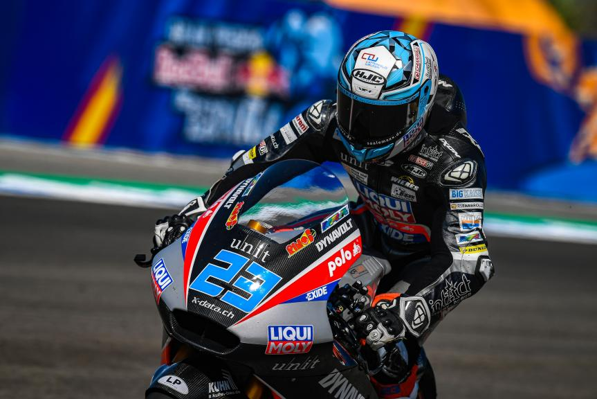 Marcel Schrotter, Liqui Moly Intact GP, Gran Premio Red Bull de Andalucía