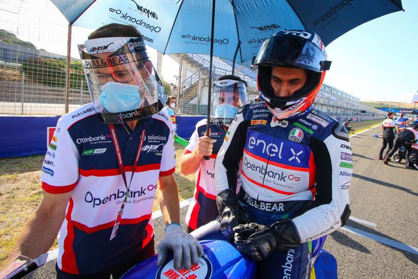 Alejandro Medina Mayo, OpenBank Aspar Team, Gran Premio Red Bull de Andalucía