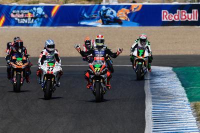 Aegerter gewinnt dramatisches MotoE™-Rennen in Andalusien