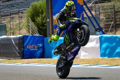 Rossi retrouve le podium !
