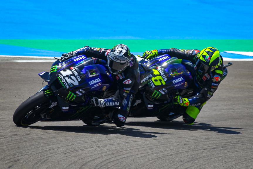 Maverick Vinales, Valentino Rossi, Monster Energy Yamaha MotoGP, Gran Premio Red Bull de Andalucía