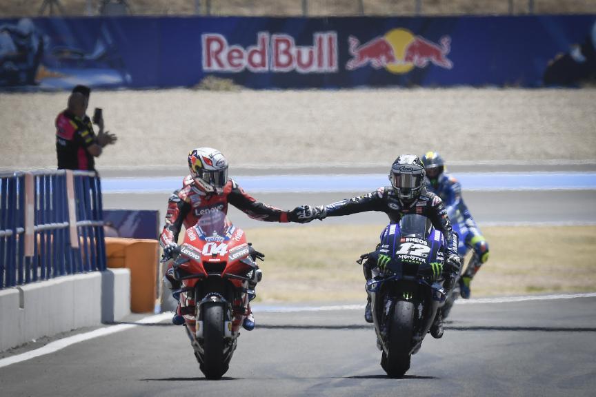 Maverick Vinales, Andrea Dovizioso, Gran Premio Red Bull de Andalucia