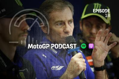 Lin Jarvis: from unpacking boxes to Rossi's boss