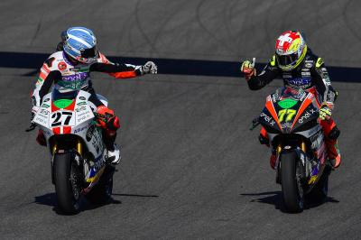 MotoE™: the best action clips from Andalucia