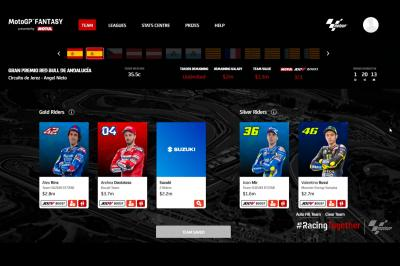 MotoGP™ Fantasy : Quel pilote a inscrit le plus de points ?