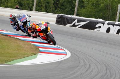 The peak of the Pedrosa-Lorenzo rivalry: Brno 2012