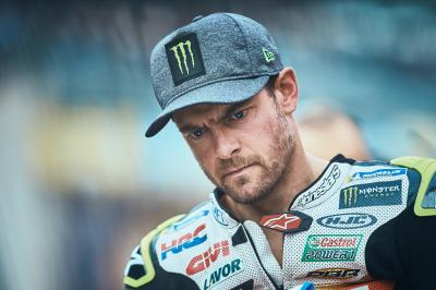 Crutchlow to assess wrist condition on Friday morning