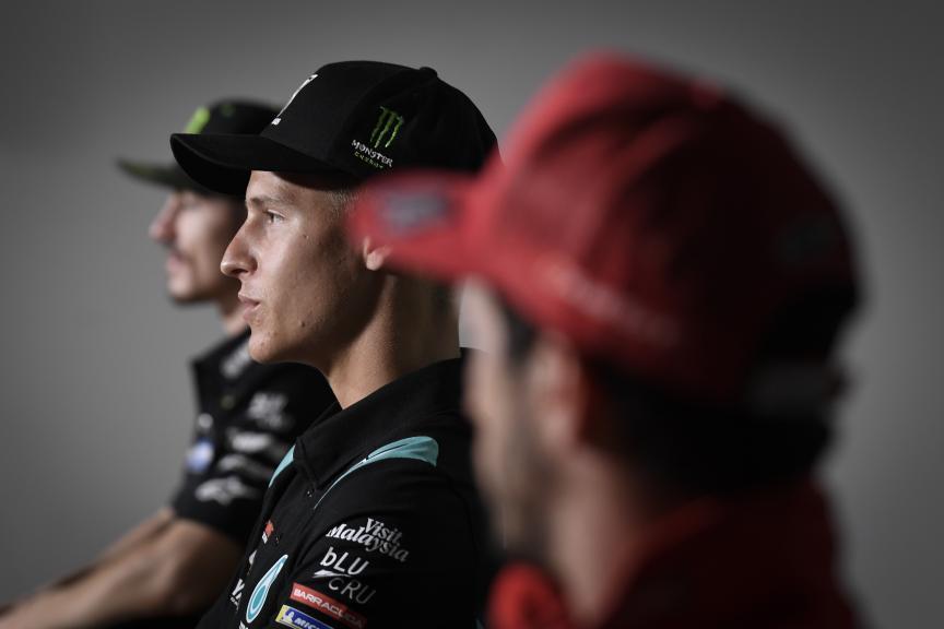 Dovizioso, Quartararo, Viñales, Monster Energy Grand Prix České republiky