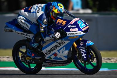 Rodrigo remains fastest in Moto3™ as Fernandez tops FP2