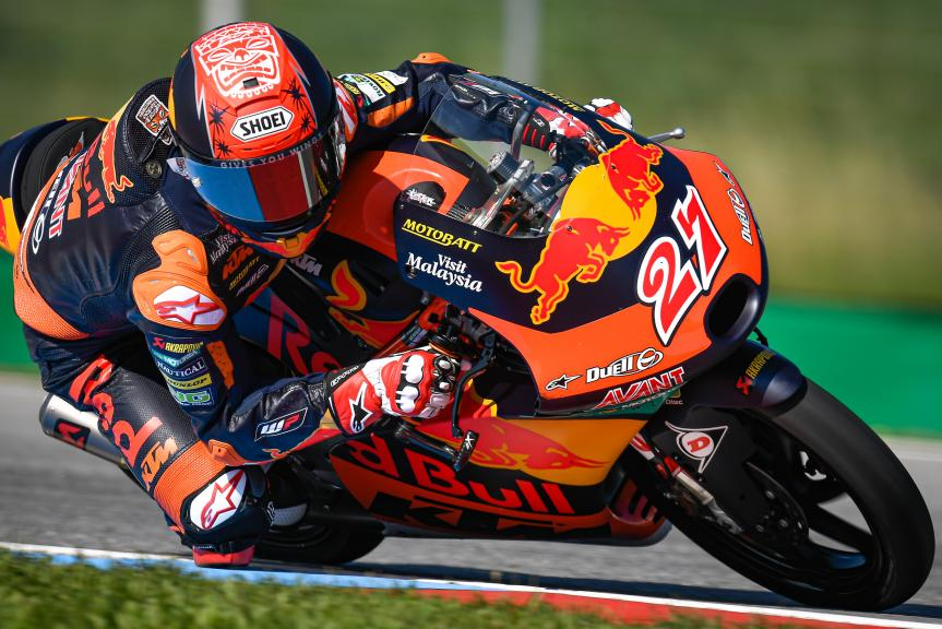 Kaito Toba, Red Bull KTM Ajo, Monster Energy Grand Prix České republiky