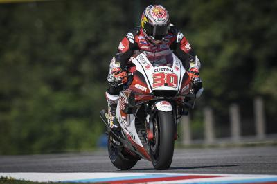 Nakagami fastest out the blocks in the Czech Republic