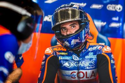 Oliveira piazza la prima KTM del venerdì a Brno